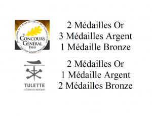 PALMARES CONCOURS RECOLTE 2014 2